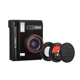 Máy ảnh chụp in liền Lomo'Instant Automat Glass màu Magellan (pin máy, remote) hàng chính hãng
