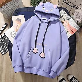 Áo hoodie Panther, Chất nỉ dày bền đẹp, dành cho nữ, Free size dưới 1m65 65kg, nhiều màu lựa chọn, hàng chất lượng