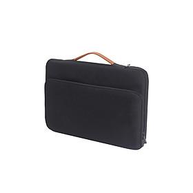 Túi chống sốc cho nam vải chống thấm quai xách tay lớp bảo vệ siêu dầy 1 ngăn phụ
