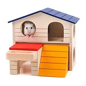 Nhà gỗ cho chuột hamter