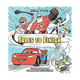 Disney Pixar Storybook Collection: Tales to Finish: Color Your Own Storybook Collection!