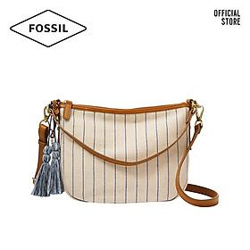 Túi đeo chéo nữ thời trang Fossil Jolie Crossbody ZB1320101 - màu trắng