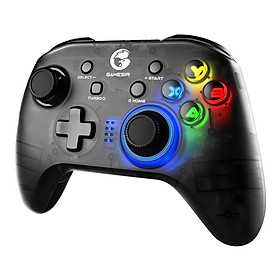 GameSir T4 pro Gaming Controller Wireless Game Gamepad with LED Backlight Replacement for Windows 7 8 10 PC iOS Android