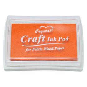 Hộp Mực Dấu Craft Ink Pad - Màu Cam