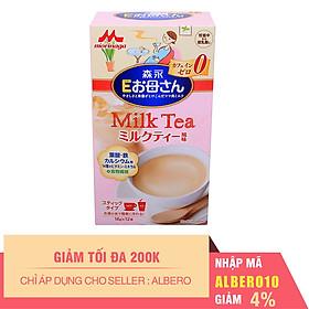 Sữa Bầu Morinaga Nội Địa Vị Trà Sữa (12 Gói x 18g)