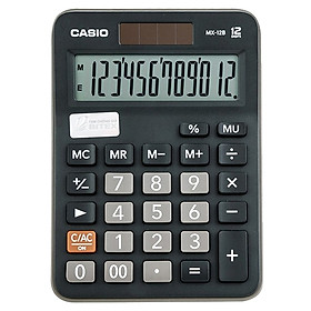 Máy Tính Casio MX-12B-BK-W-DC