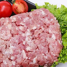 Thịt heo xay nhập khẩu