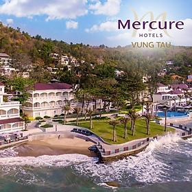 Mercure Hotel 4* Vũng Tàu - Buffet Sáng, Hồ Bơi, Bãi Biển Riêng Bãi Trước, Khu Đồi Và Biển Siêu Đẹp