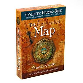 Bộ Tarot  The Enchanted Map Oracle Bài Bói New