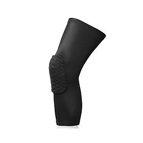 1 Bảo vệ đầu gối thể thao, Băng bảo vệ đầu gối có lót đệm cao su (SP042)