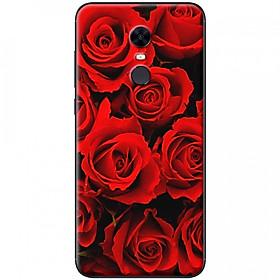 Ốp lưng dành cho Xiaomi Redmi 5 Plus mẫu Đoá hoa hồng