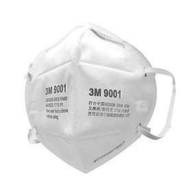Khẩu Trang 3M 9001 Lọc 90% Bụi Mịn PM2.5 & Khí Thải Chuẩn N90