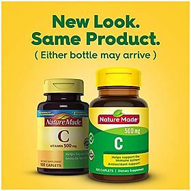 Viên Uống Nature Made Bổ Sung Vitamin C 500mg (100 Viên/Hộp)