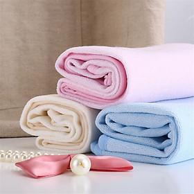 Khăn Cotton Trẻ Em Mau Khô Thoáng Khí Hi Baby (70 x 55 cm) (2 Cái)