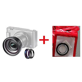 Ulanzi WL-1 ZV1 10X HD Macro Lens 18MM Wide Angle Lens Camera Lens for Sony ZV-1 Camera Accessories Camera Lens