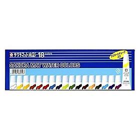 Màu Nước Sakura Mat Water Color 5ml 18 Màu