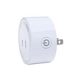 Ổ Cắm Điều Kiển Từ Xa Wifi Thông Minh C18 ( KẾT NỐI ĐIỆN THOẠI HẸN GIỜ BẬT TẮT THIẾT BỊ ĐIỆN ) - Tặng kèm 03 nút kẹp giữ dây điện ngẫu nhiên