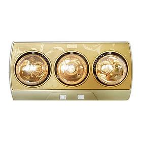 Đèn Sưởi Nhà Tắm 3 Bóng Kohn KP03G 825W - Hàng Chính Hãng