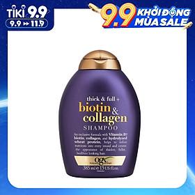 Dầu Gội Ogx Biotin & Collagen Shampoo 385ml
