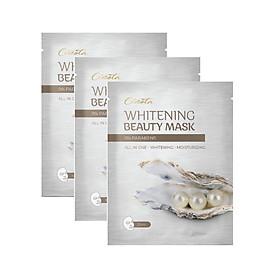 Combo 3 Mặt Nạ Dưỡng Trắng Da Nâng Cơ Cenota Whitening Beauty Mask