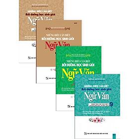 Combo Những Điều Cần Biết Bồi Dưỡng Học Sinh Giỏi Ngữ Văn 6-7-8-9