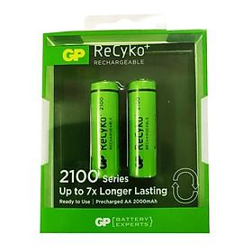 Pin Sạc GP Recyko+ AA Dung Lượng 2000mAh GP210AAHCE-2GBAS2 - Hàng Chính Hãng