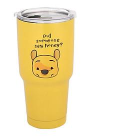 Ly giữ nhiệt 900ml - Gấu vàng