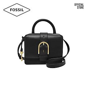 Túi đeo vai nữ thời trang Fossil Wiley Top Handle ZB7880001 - màu đen