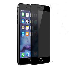 Miếng dán màn hình cường lực chống nhìn trộm full màn hình 3D Baseus cho iPhone 7 Plus/ iPhone 8 Plus - Đen - Hàng chính hãng