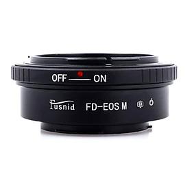 Vòng Điều Chỉnh Khẩu Độ Fusnid Từ Canon FD Lens Sang Canon EOS M Lens