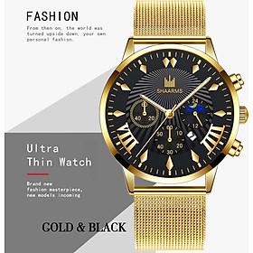 Quartz Watch Watches Fashion Ultrathin Business Date Mens Dress