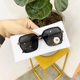Mắt kính thời trang dáng vuông nguyên khối dành cho cả nam và nữ BDDLF832