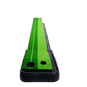 Thảm tập golf putting đế nhựa 300x30cm