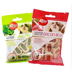 Bánh Thưởng Orgo Dinh Dưỡng Cho Chó Mèo - Snack - Hỗ Trợ Răng và Xương