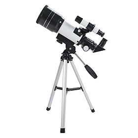 30070 Children's Telescope Holiday Gift Astronomical Telescope Professional Stargazing Telescope Compact Tripod Watching