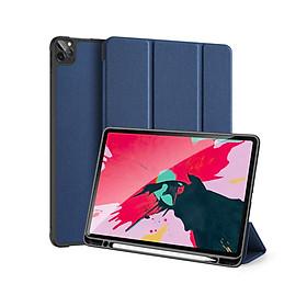 """Bao da dành cho iPad Pro 11"""" 2021 DUX DUCIS DOMO with Pencil Holder - Hàng Nhập Khẩu"""