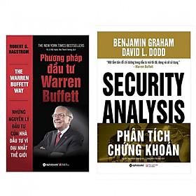 Combo Phân Tích Chứng Khoán + Phương pháp đầu tư Warren Buffett (Bộ 2 cuốn sách kinh điển về đầu tư chứng khoán)