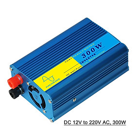 Power Inverter Vehicle Power Converter Universal Pure Sine Wave DC 12V to 220V AC, 800W