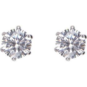 Bông Tai Kim Cương Nhân Tạo Gix Jewelry GE000003 - Trắng