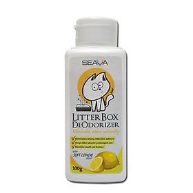 Bột Litter Box Deodorizer 100g khử mùi tăng vón cho cát vệ sinh mèo