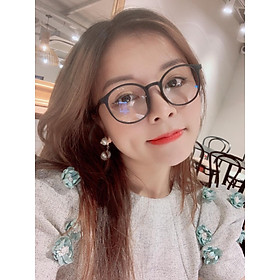 Gọng kính giả cận nam nữ cao cấp Hàn Quốc ViVo - Kính cận tròn không độ mẫu đẹp lạ BDTT