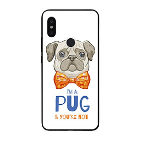 Ốp điện thoại in họa tiết Tôi là PUG và bạn thì không dành cho điện thoại Xiaomi Note 5