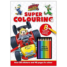 Disney Junior - Mickey & the Roadster Racers: Super Colouring (Colouring Time Xtra Disney)