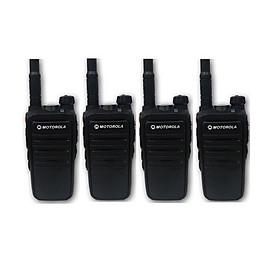 Bộ 4 Bộ đàm Motorola CP318 - Hàng Chính Hãng