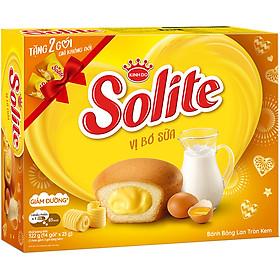 Bánh Solite Cupcake Kem Bơ Sữa (276g)