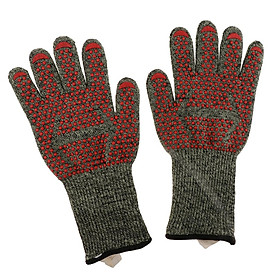Oven Gloves Heat Resistant Cooking Mitts Fireplace Accessories and Welding