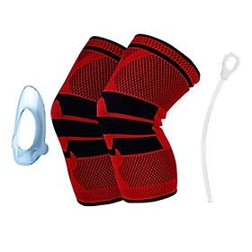Băng bảo vệ đầu gối thể thao có dây quấn cố định khớp
