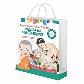 Bộ Túi 2 - Song Ngữ Anh - Việt - Gieo Hạt Lành Cho Con - Dạy Con Theo Quan Điểm Phật Giáo - Nhận Thức Tốt : Biết Yêu Thương Bản Thân - Biết Giữ Bình Tĩnh - Biết Phân Biệt Đúng - Sai (6 Cuốn)