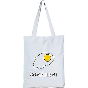 Túi Vải Đeo Vai Tote Bag Trứng XinhStore