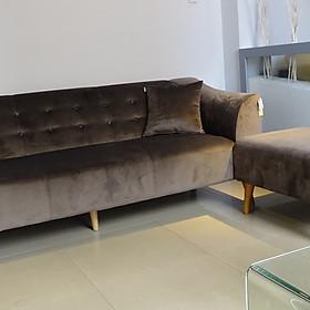 Sofa Băng Vải Nhung Cao Cấp - SB67